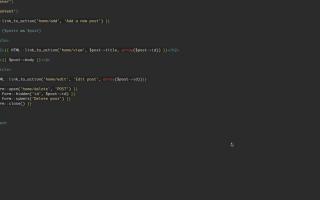 Сайт-визитка на Laravel. Практическая работа с шаблонами